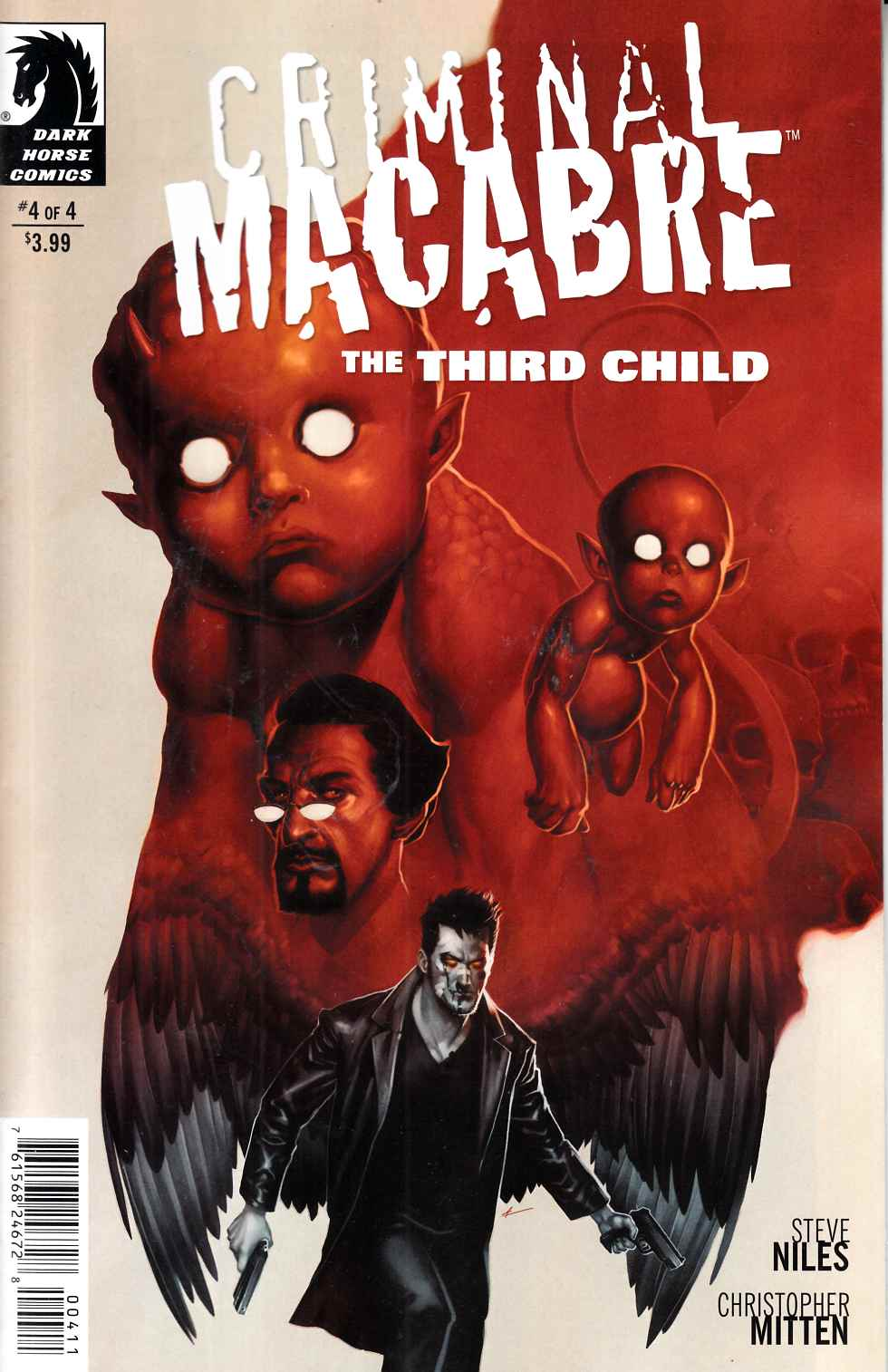 Criminal Macabre Third Child #4 [Dark Horse Comic] THUMBNAIL