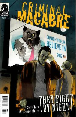 Criminal Macabre They Fight By Night (One Shot) [Comic] LARGE