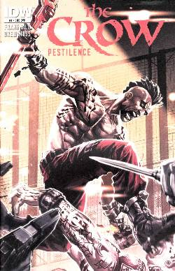 The Crow Pestilence #1 Subscription Cover [IDW Comic] LARGE