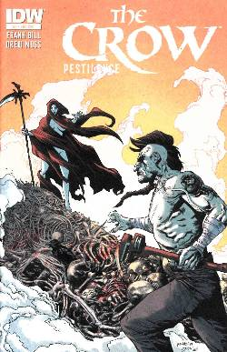 The Crow Pestilence #2 Subscription Cover [IDW Comic] LARGE