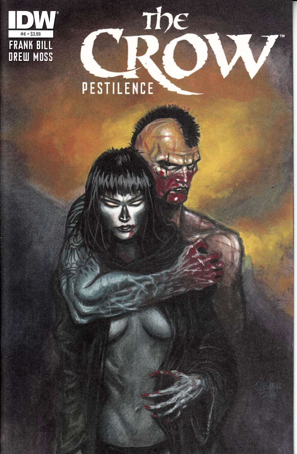 The Crow Pestilence #4 [IDW Comic] LARGE