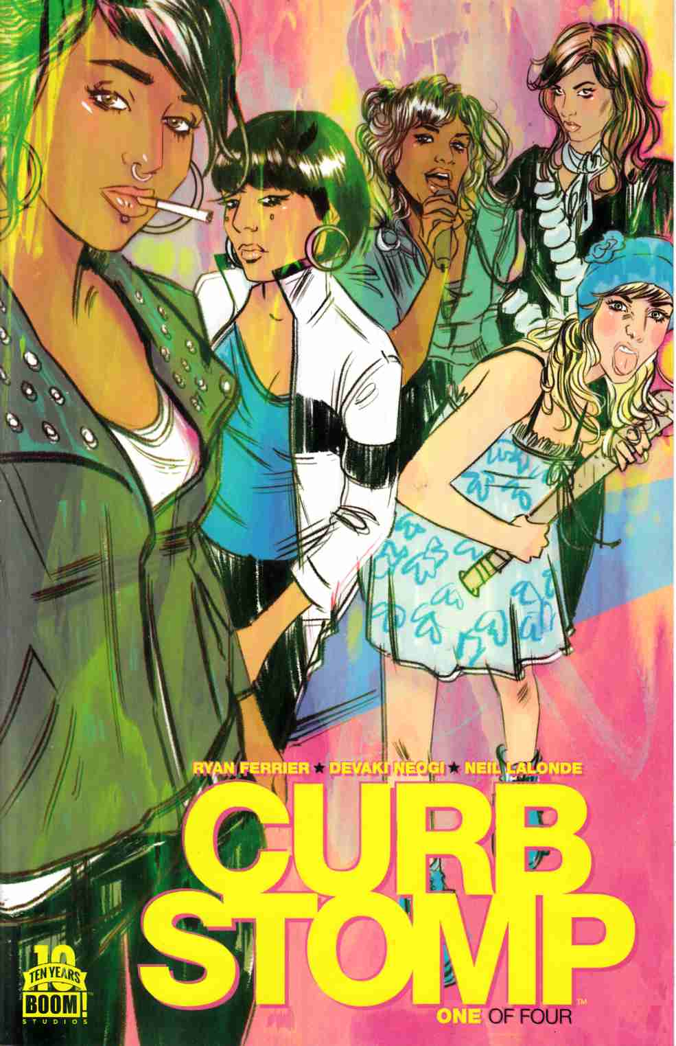 Curb Stomp #1 [Boom Comic]