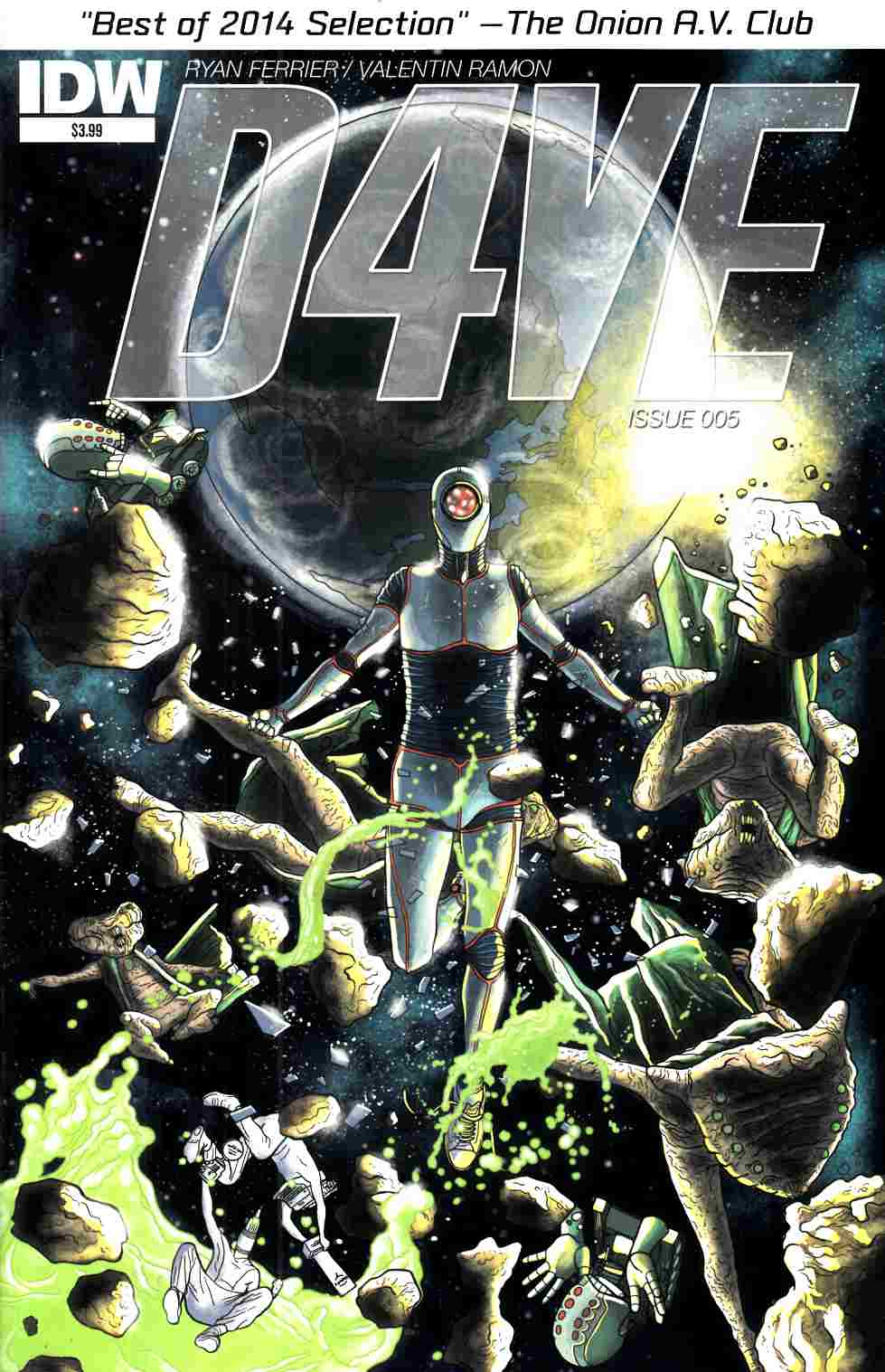 D4Ve #5 [IDW Comic] LARGE