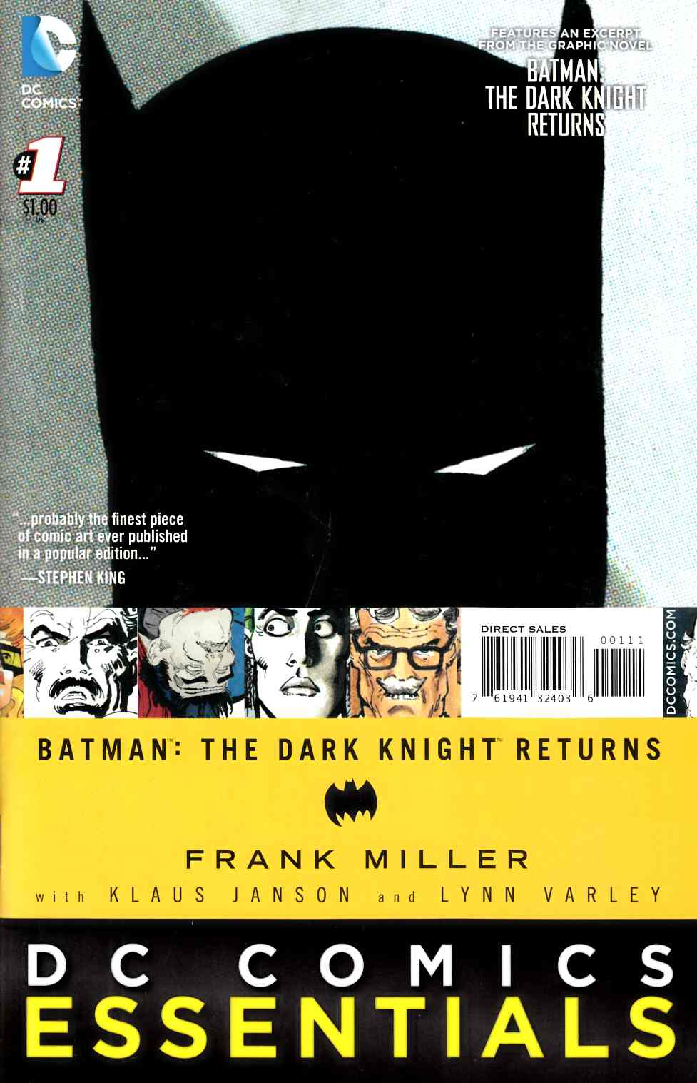 Batman the Dark Knight Returns #1 Special Edition [DC Comic]_THUMBNAIL