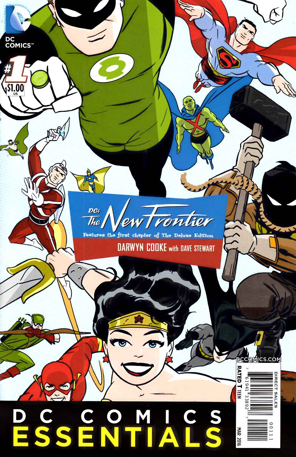 DC Essentials DC the New Frontier #1 [DC Comic] THUMBNAIL