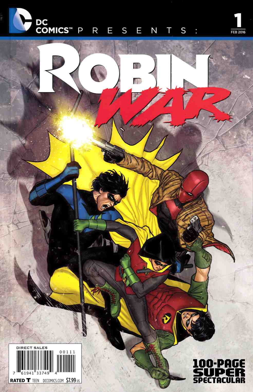 DC Presents Robin War 100 Page Spectacular #1 [DC Comic] THUMBNAIL