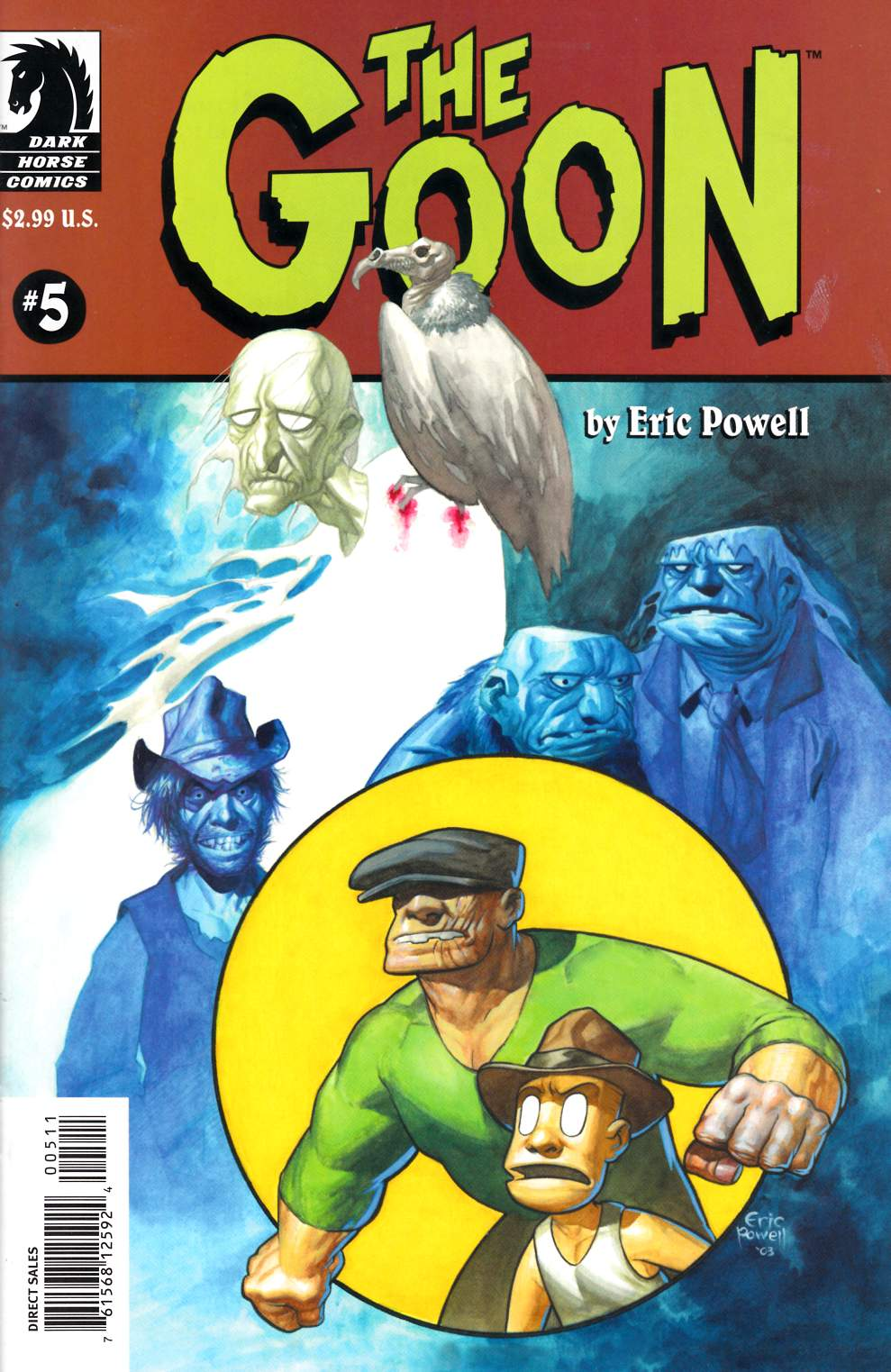 Goon #5 Very Fine (8.0) [Dark Horse Comic] THUMBNAIL