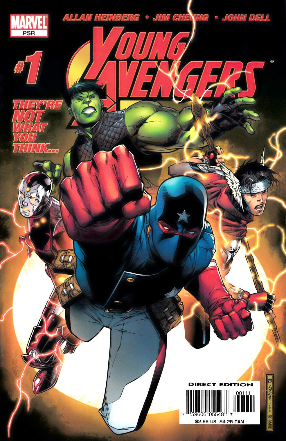Young Avengers #1 Fine Plus (6.5) [Marvel Comic]