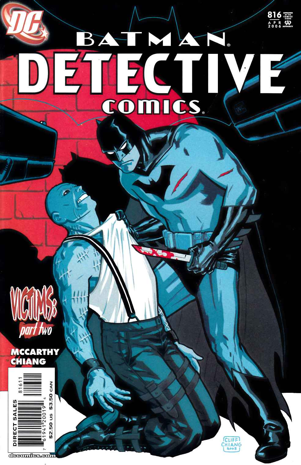 Detective Comics #816 Very Fine Plus (8.5) [DC Comic] THUMBNAIL