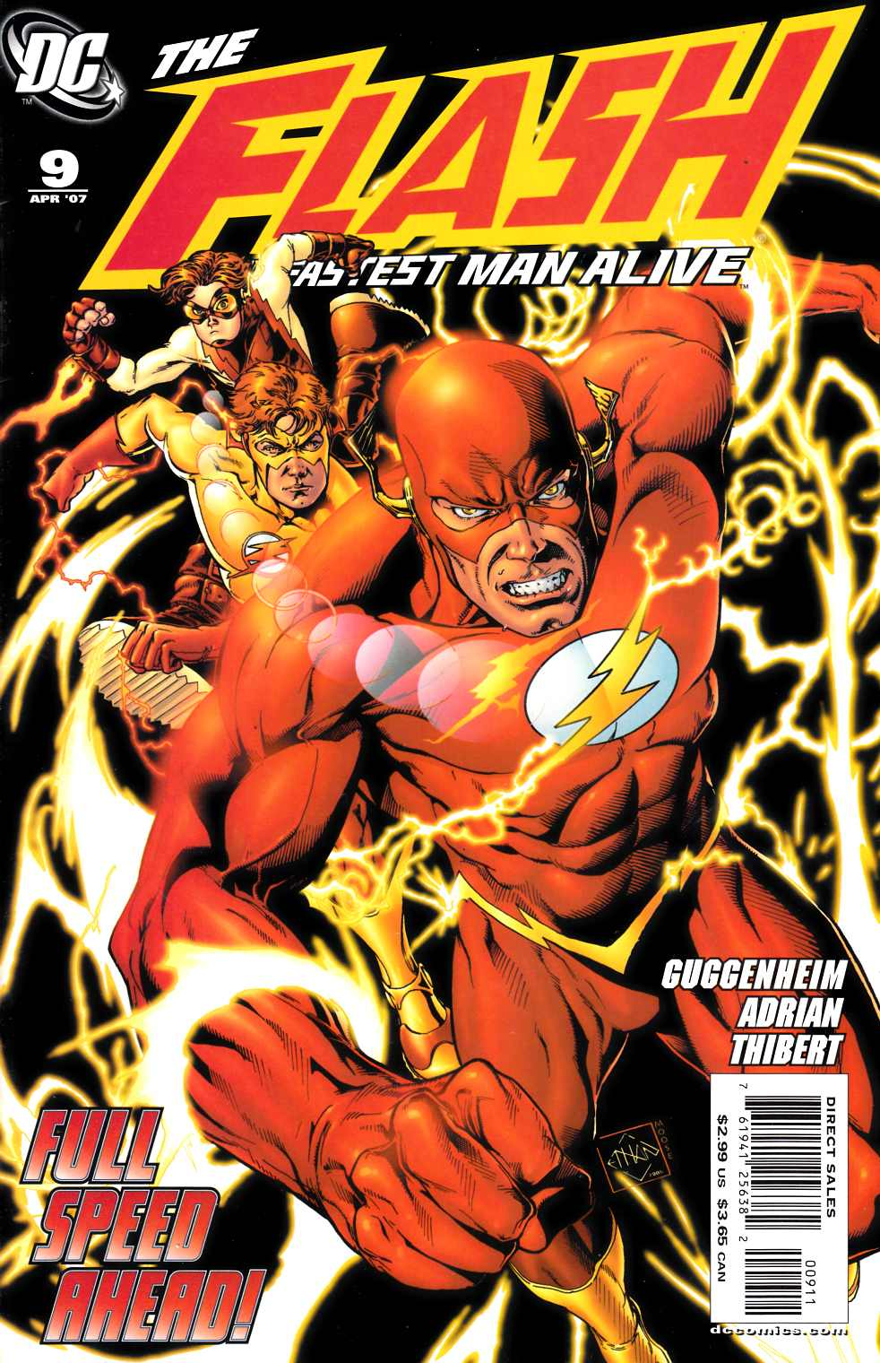 Flash the Fastest Man Alive #9 Near Mint Minus (9.2) [DC Comic]_THUMBNAIL