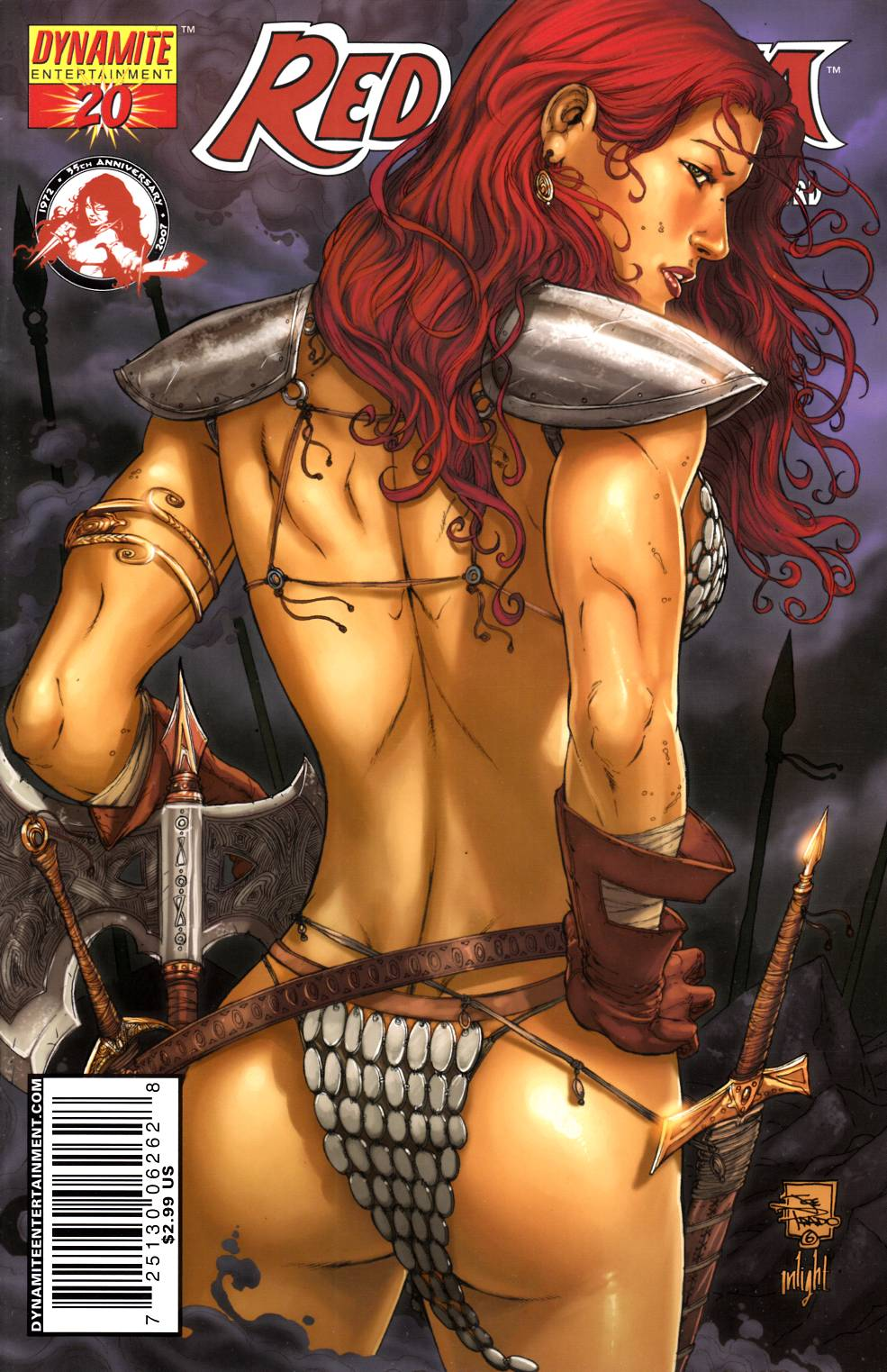 Red Sonja #20 Prado Cover Very Fine (8.0) [Dynamite Comic] THUMBNAIL