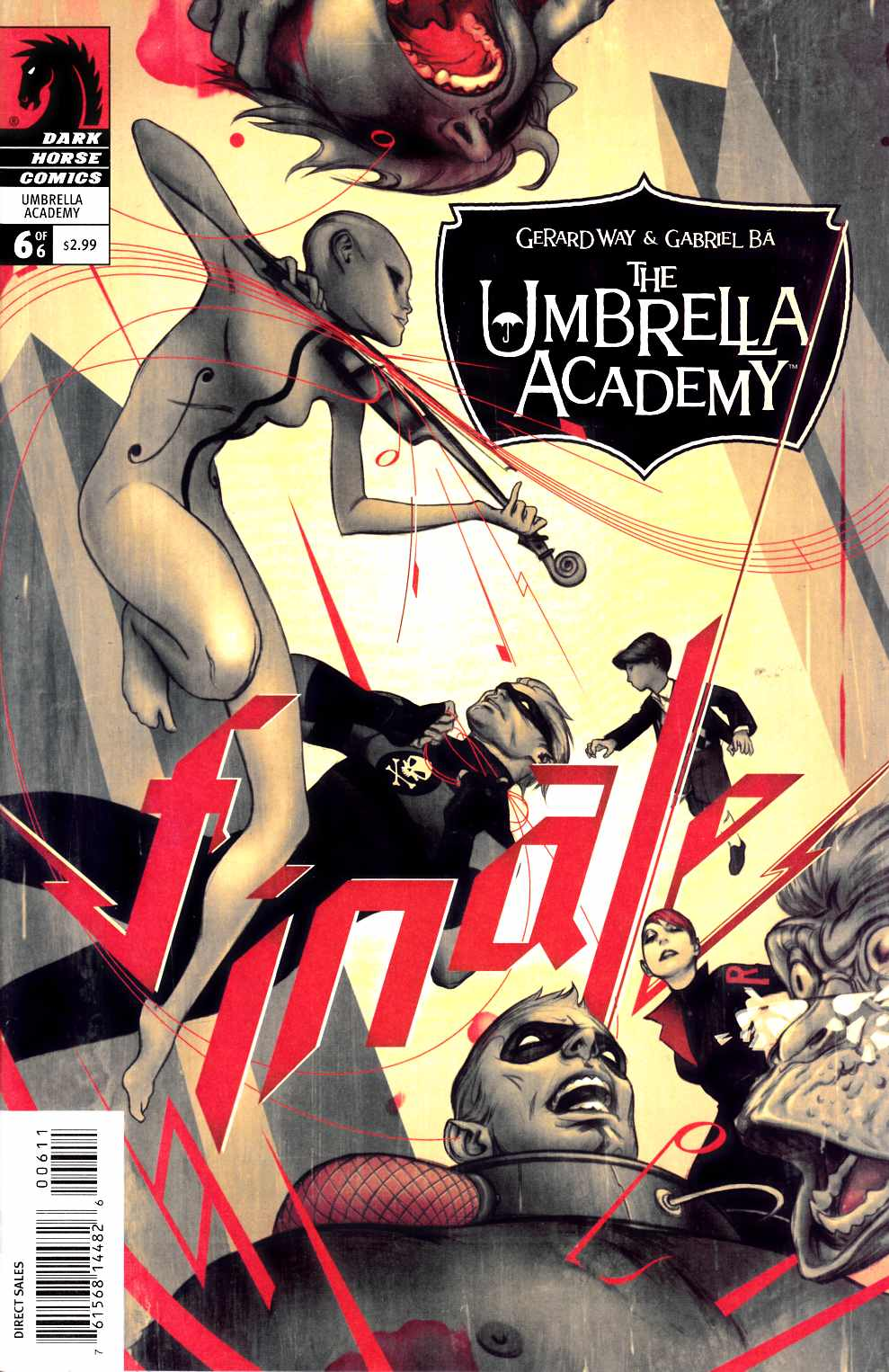 Umbrella Academy Apocalypse Suite #6 [Dark Horse Comic]