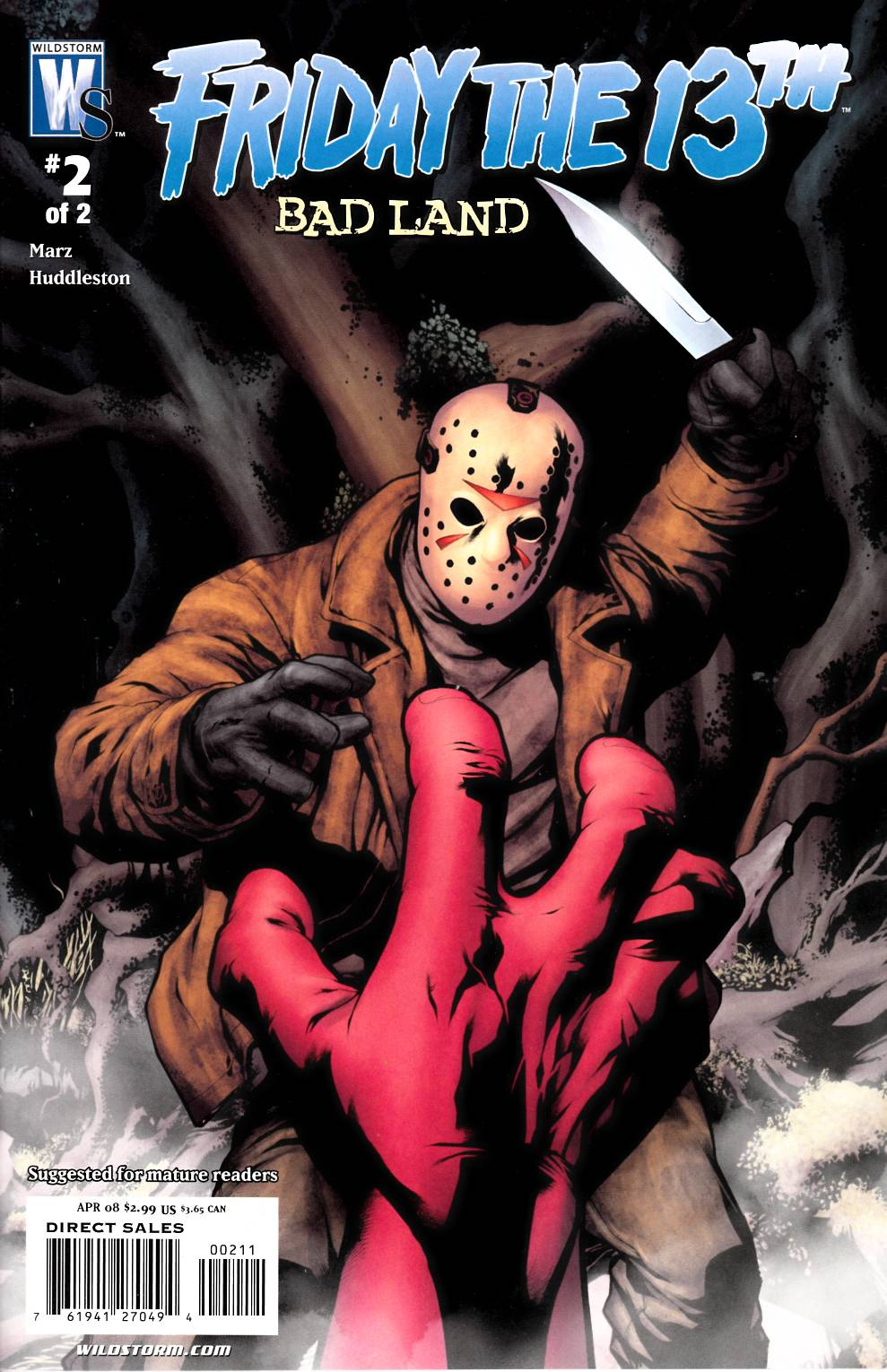 Friday the 13th Bad Land #2 [DC Comic] THUMBNAIL