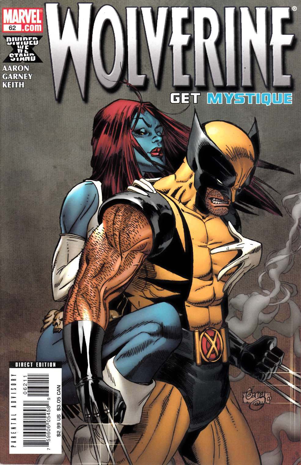 Wolverine #62 Fine Plus (6.5) [Marvel Comic] THUMBNAIL