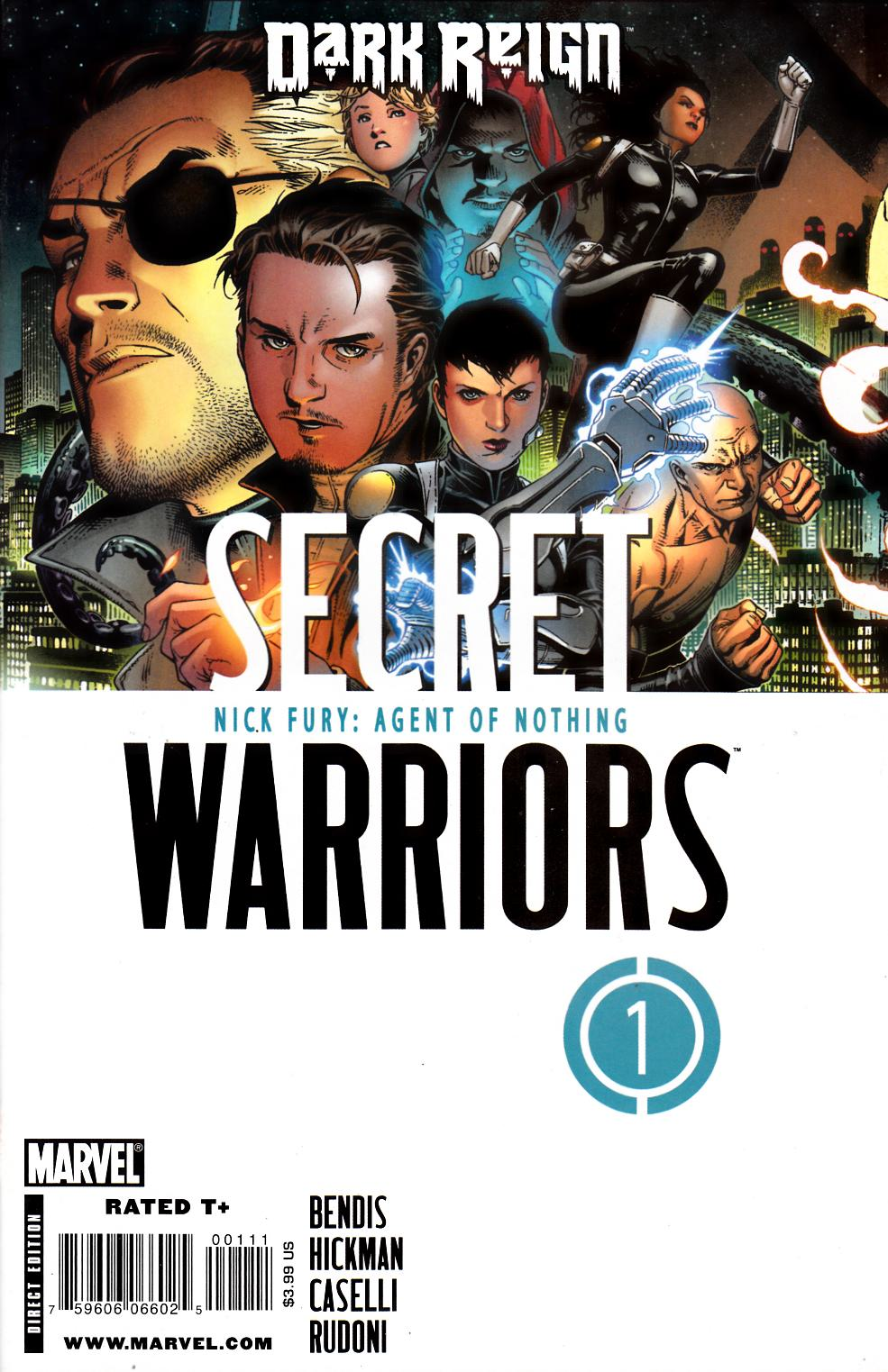 Secret Warriors #1 Near Mint (9.4) [Marvel Comic] THUMBNAIL