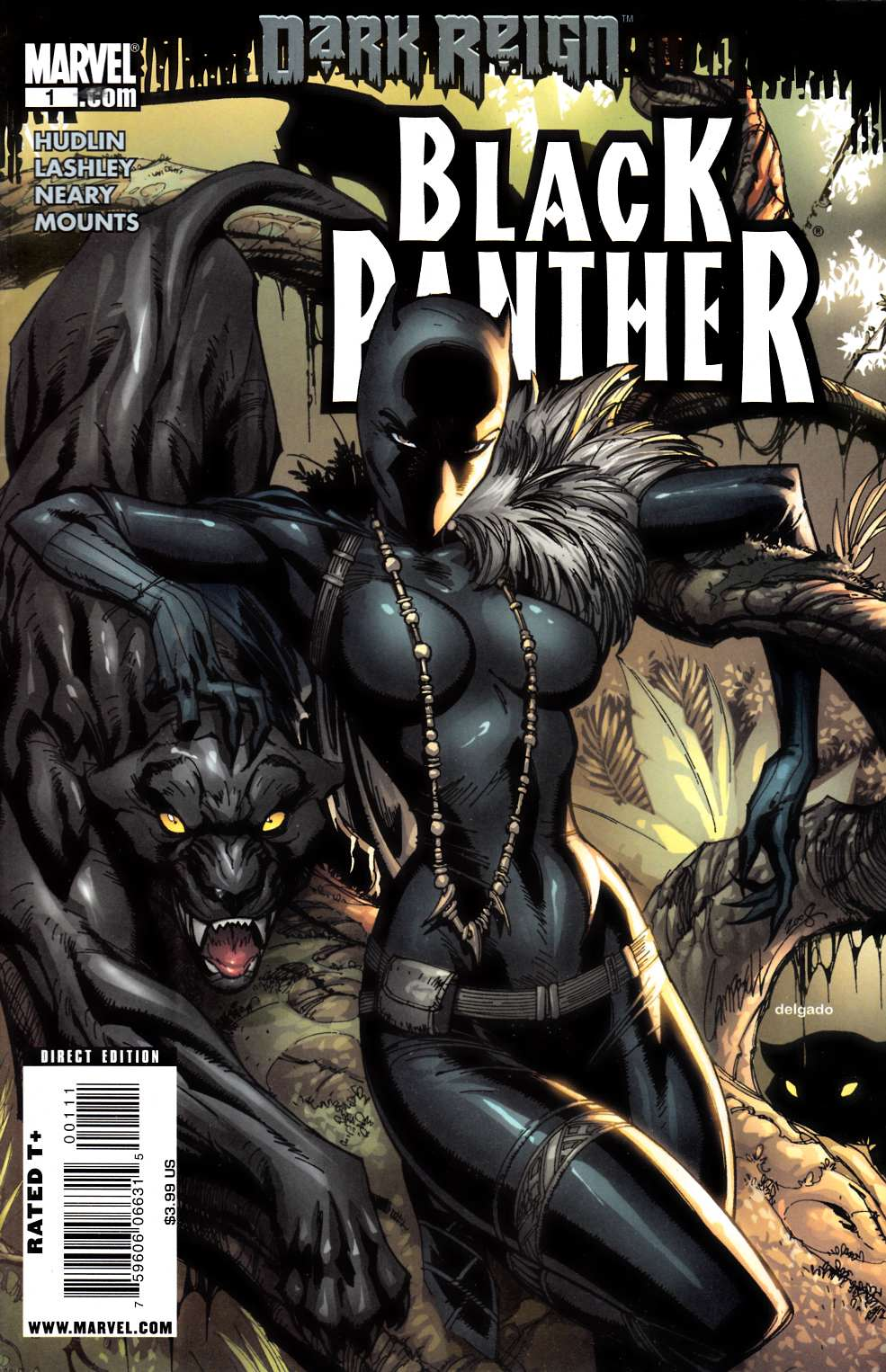 Black Panther #1 Cover A Fine (6.0) [Marvel Comic]_THUMBNAIL