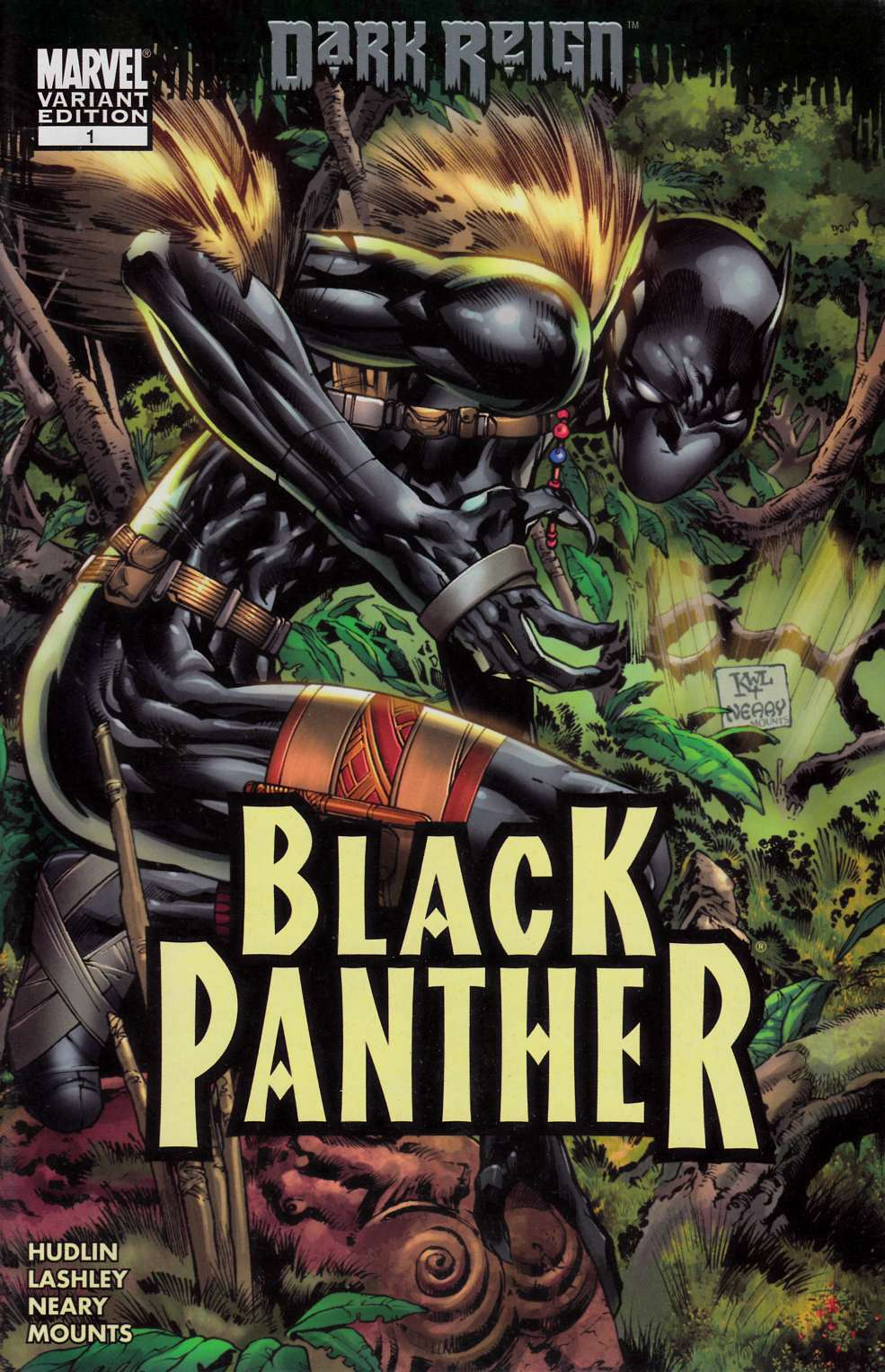 Black Panther #1 Cover B Fine (6.0) [Marvel Comic]_THUMBNAIL