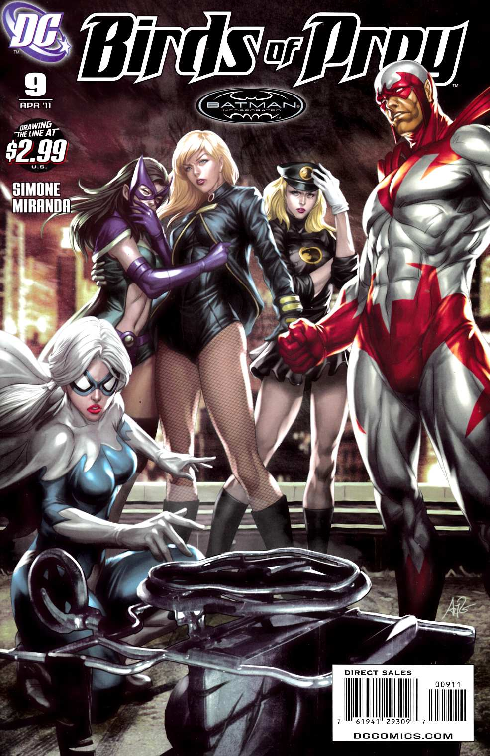 Birds of Prey #9 Near Mint (9.4) [DC Comic]