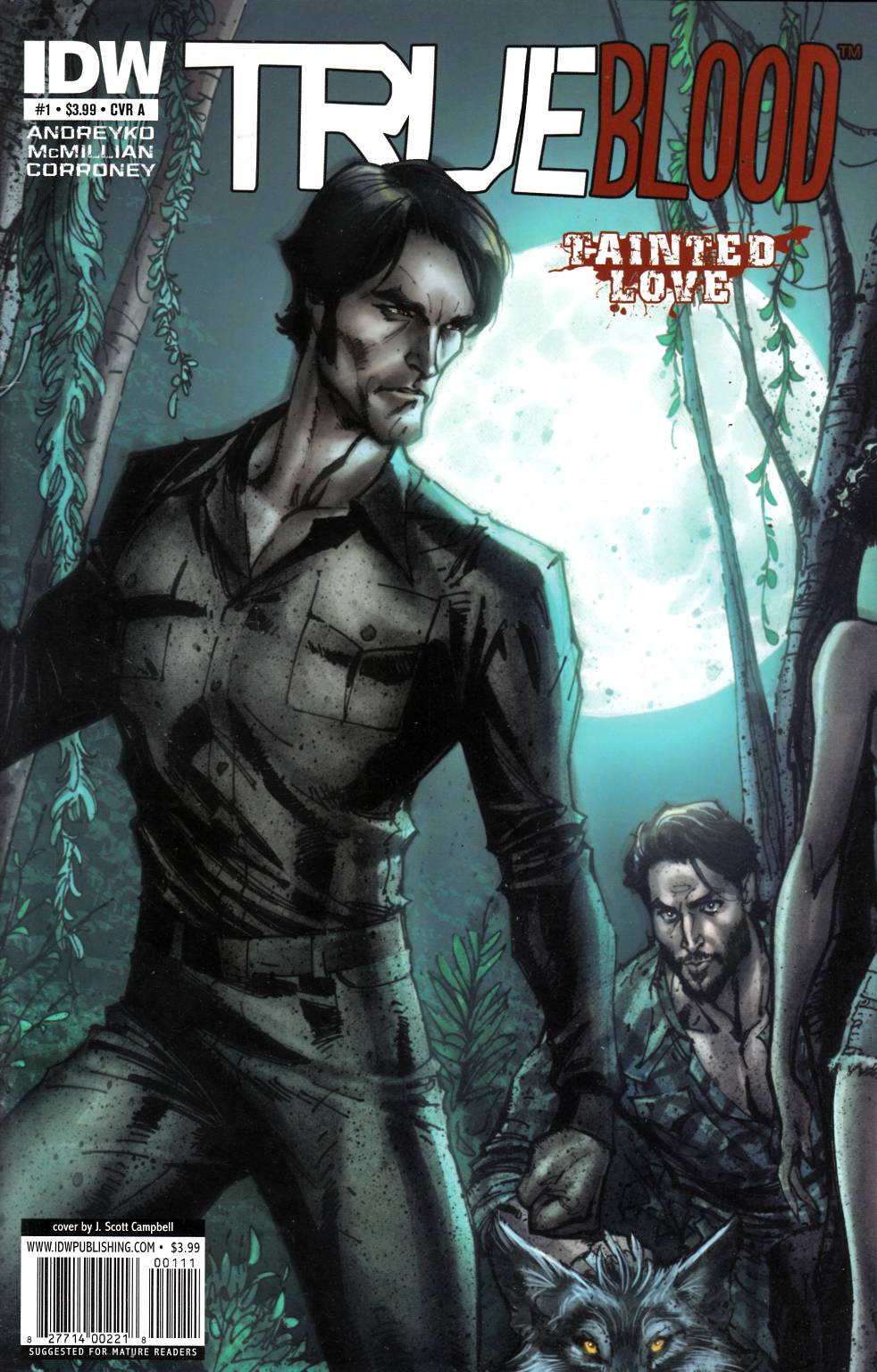 True Blood Tainted Love #1 Cover A Near Mint Minus (9.2) [IDW Comic] THUMBNAIL