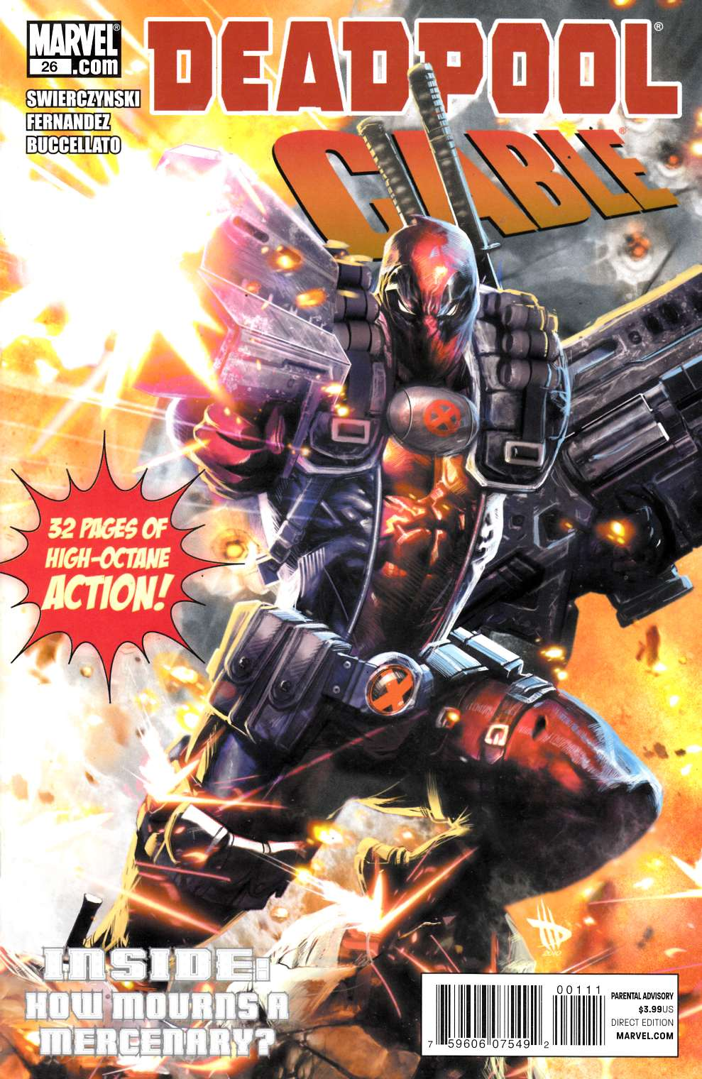 Deadpool & Cable #26 Near Mint (9.4) [Marvel Comic] THUMBNAIL