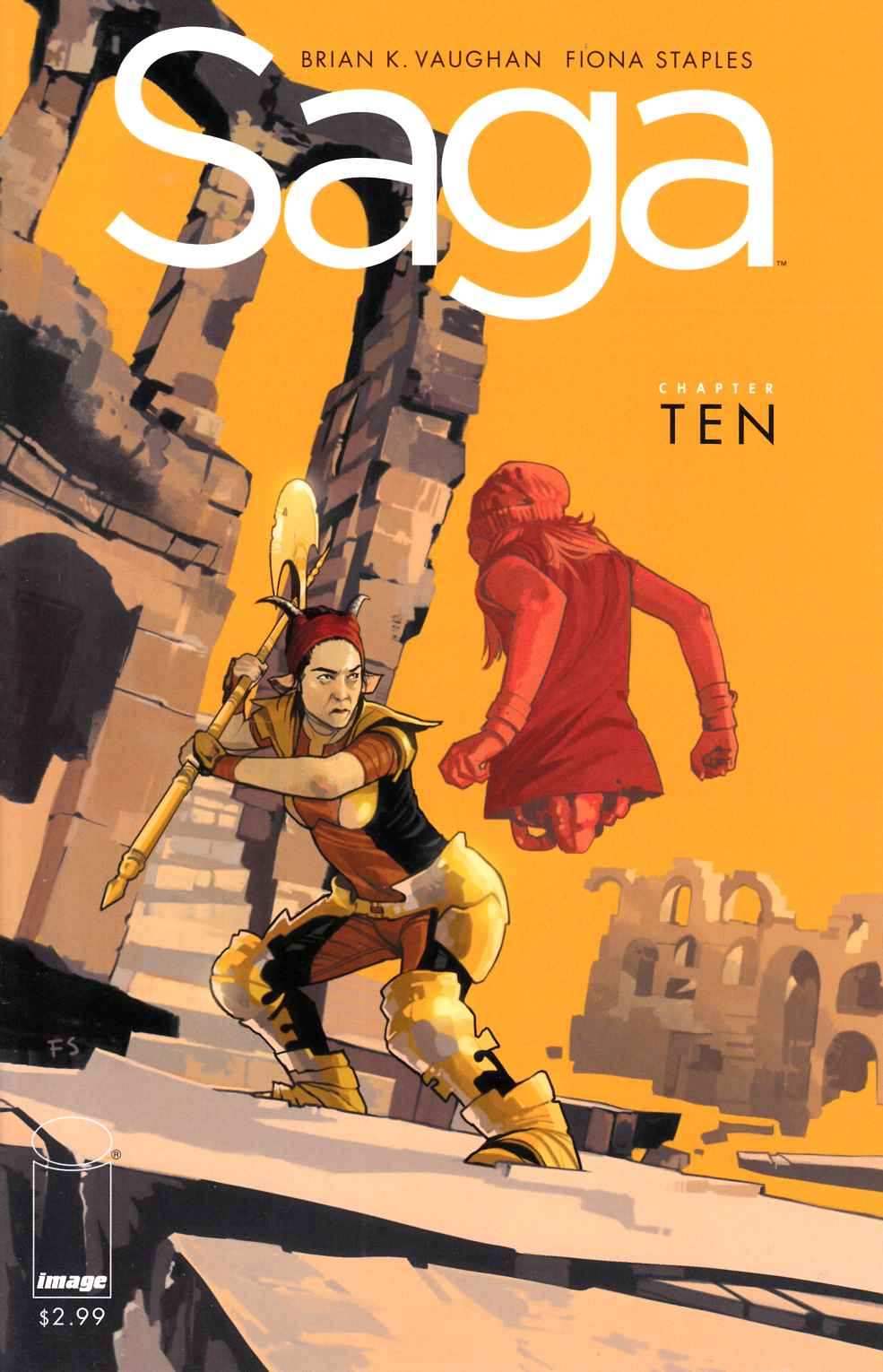 Saga #10 Near Mint (9.4) [Image Comic] THUMBNAIL