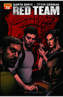 Garth Ennis Red Team #1 Subscription Cover [Comic] THUMBNAIL
