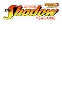Shadow Year One #1 Blank Authentix Cover [Comic]_THUMBNAIL