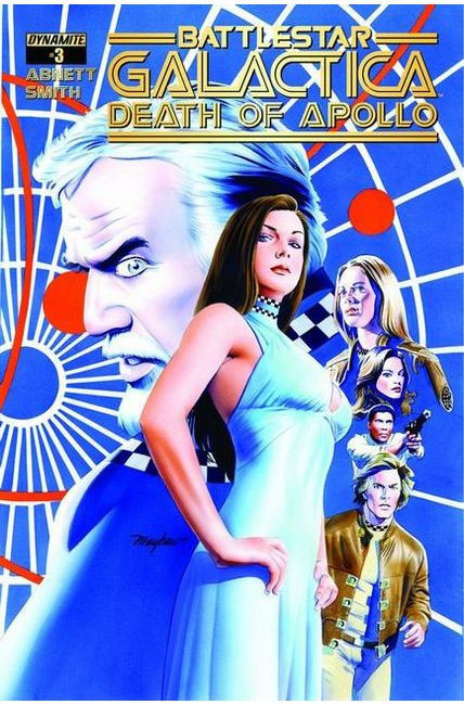 Battlestar Galactica Death of Apollo #3 Cover A- Mayhew [Dynamite Comic]