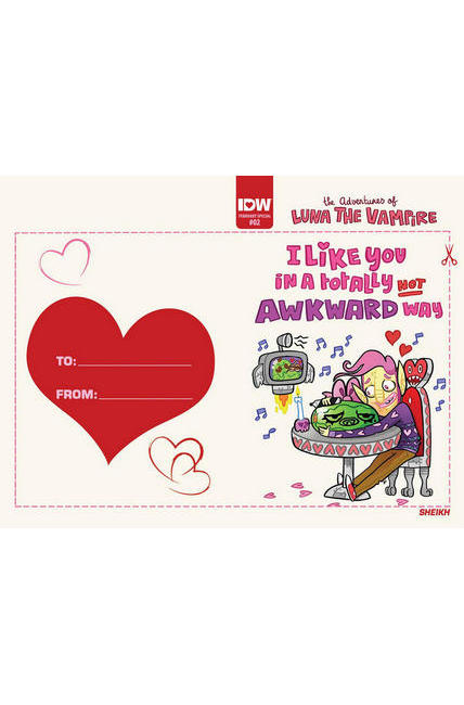 Luna the Vampire #2 Valentines Day Card Cover [IDW Comic]_LARGE