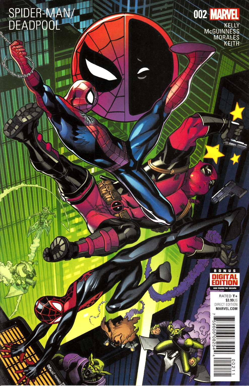 Spider-Man Deadpool #2 Very Fine Plus (8.5) [Marvel Comic] THUMBNAIL