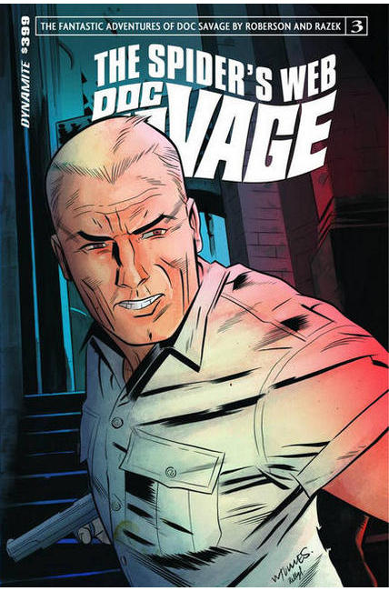 Doc Savage Spiders Web #3 Cover A- Torres [Dynamite Comic]