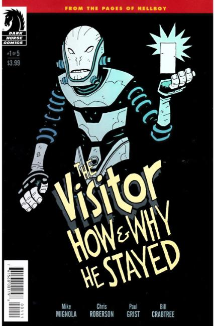 Visitor How and Why He Stayed #1 [Dark Horse Comic] LARGE