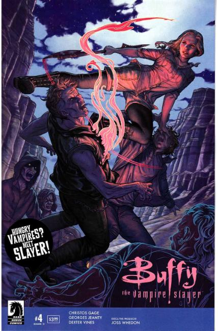 Buffy the Vampire Slayer Season 11 #4 [Dark Horse Comic] THUMBNAIL