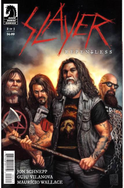 Slayer Repentless #2 [Dark Horse Comic]