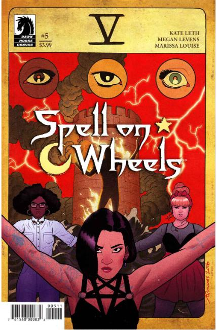 Spell on Wheels #5 [Dark Horse Comic] THUMBNAIL