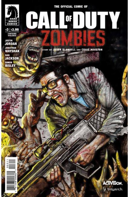 Call of Duty Zombies #3 [Dark Horse Comic] THUMBNAIL