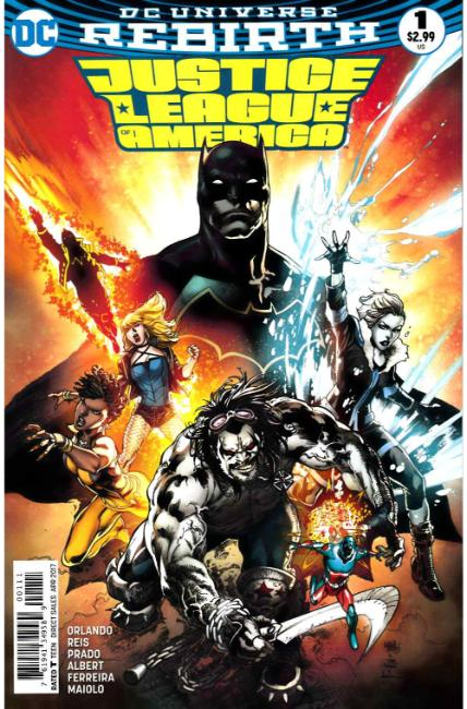Justice League of America #1 [DC Comic] THUMBNAIL