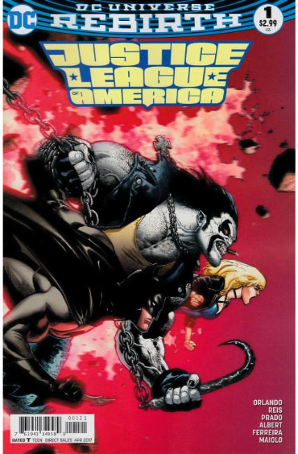 Justice League of America #1 Brooks Variant Cover [DC Comic] THUMBNAIL