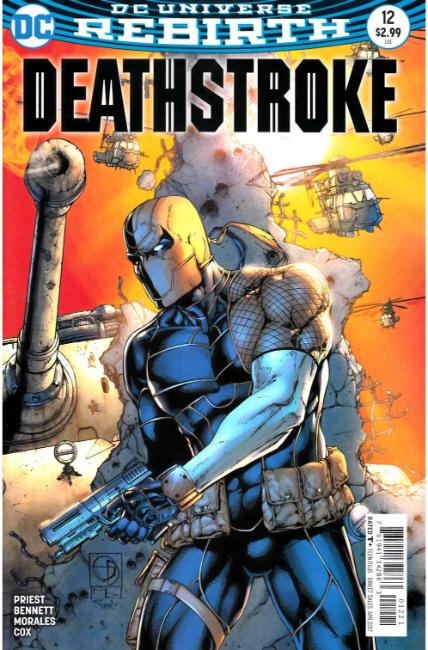 Deathstroke #12 Davis Variant Cover [DC Comic] LARGE