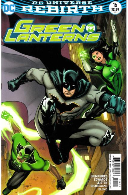 Green Lanterns #16 Lupacchino Variant Cover [DC Comic]