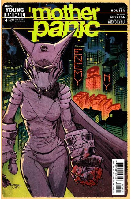 Mother Panic #4 Crystal Variant Cover [DC Comic] THUMBNAIL