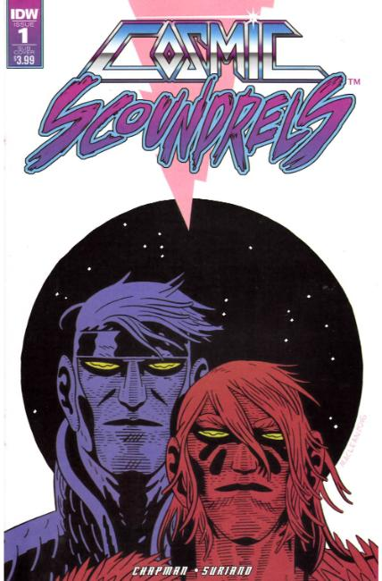Cosmic Scoundrels #1 Subscription Cover [IDW Comic] THUMBNAIL
