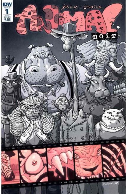 Animal Noir #1 Subscription Cover [IDW Comic] THUMBNAIL
