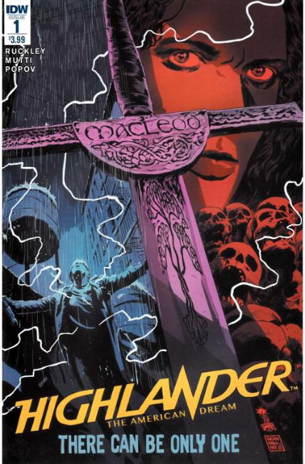 Highlander The American Dream 1 Idw Comic Dreamlandcomicscom