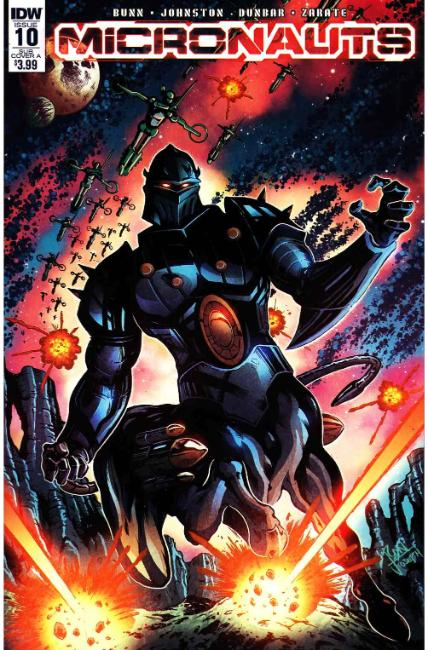 Micronauts #10 Subscription Cover A [IDW Comic] THUMBNAIL
