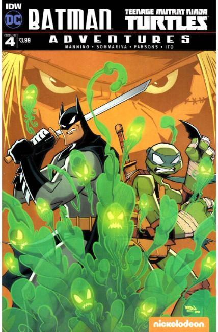 Batman TMNT Adventures #4 [IDW Comic]