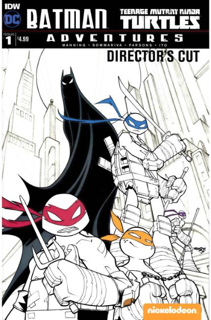 Batman TMNT Adventures #1 Directors Cut Edition [IDW Comic]