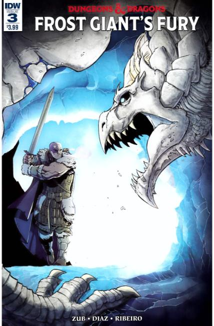 Dungeons & Dragons Frost Giants Fury #3 [IDW Comic] LARGE