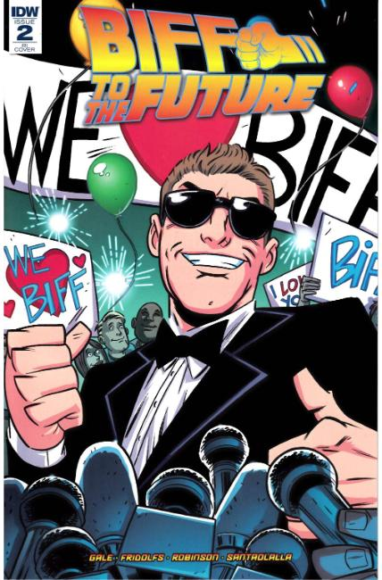 Back to the Future Biff to the Future #2 Cover RI [IDW Comic]