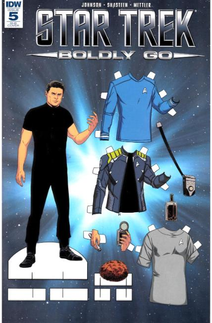 Star Trek Boldly Go #5 Cover RIB [IDW Comic] LARGE